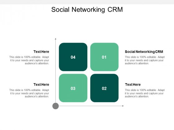 Social Networking CRM Ppt PowerPoint Presentation Gallery Ideas Cpb