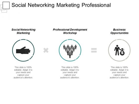 Social Networking Marketing Professional Development Workshop Business Opportunities Ppt PowerPoint Presentation Inspiration Tips