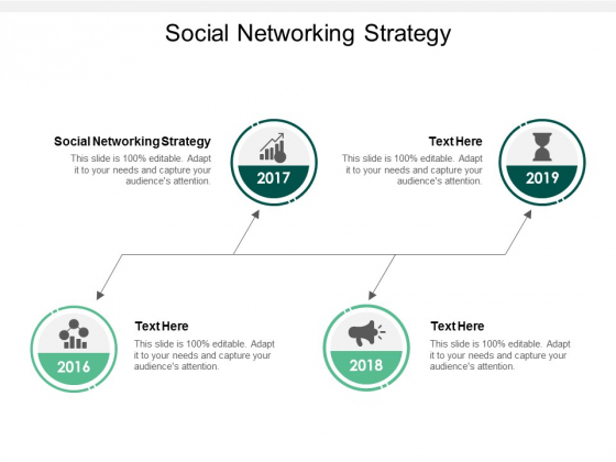 Social Networking Strategy Ppt PowerPoint Presentation Infographic Template Master Slide Cpb