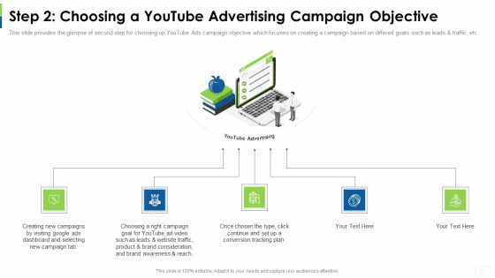 Social Platform As Profession Step 2 Choosing A Youtube Advertising Campaign Objective Themes PDF