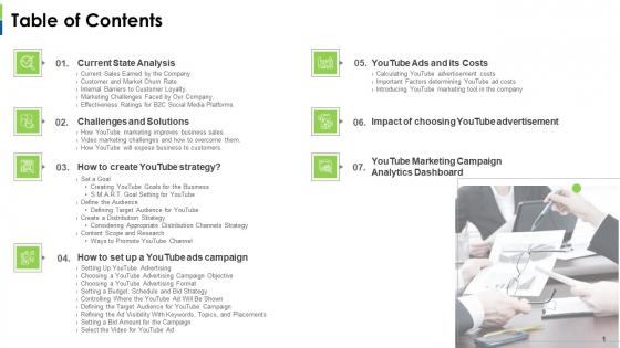 Social Platform As Profession Table Of Contents Ppt Infographics Gridlines PDF