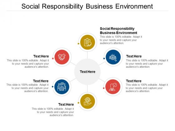 Social Responsibility Business Environment Ppt PowerPoint Presentation Portfolio Tips Cpb Pdf