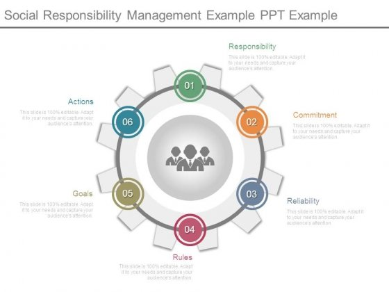 Social Responsibility Management Example Ppt Example