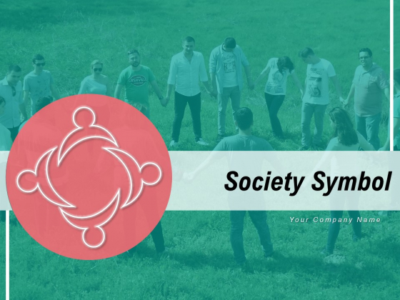Society Symbol Teamwork Cloud Community Ppt PowerPoint Presentation Complete Deck