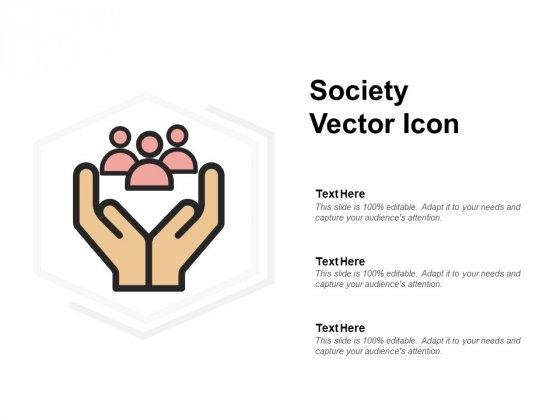 Society Vector Icon Ppt PowerPoint Presentation Styles Model