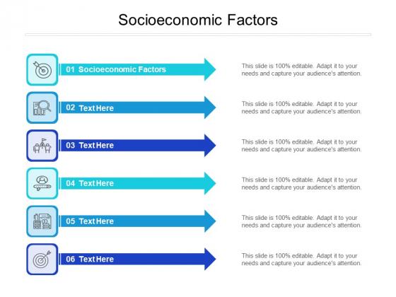 Socioeconomic Factors Ppt PowerPoint Presentation Gallery Designs Download Cpb Pdf