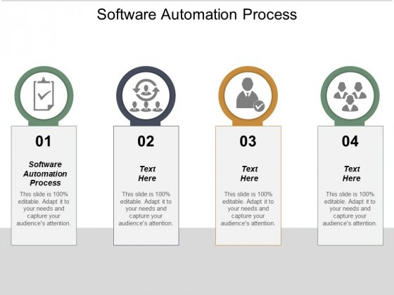 Software Automation Process Ppt PowerPoint Presentation Show Vector Cpb