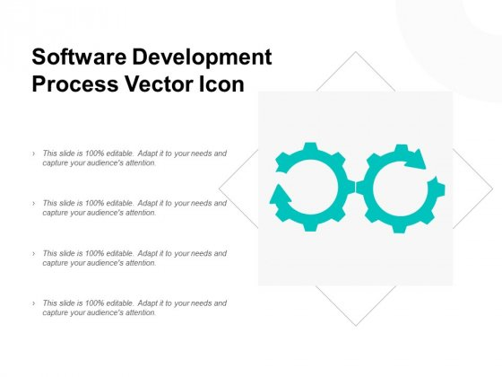 Software Development Process Vector Icon Ppt PowerPoint Presentation Professional Graphic Tips