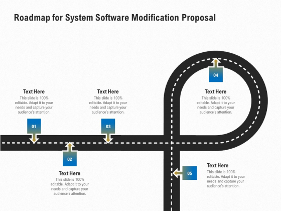 Software_Maintenance_Roadmap_For_System_Software_Modification_Proposal_Ppt_PowerPoint_Presentation_Ideas_Gallery_PDF_Slide_1