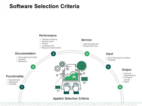 Software Selection Criteria Template 2 Ppt PowerPoint Presentation Visual Aids Pictures