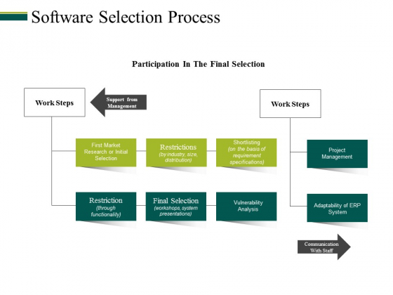 Software Selection Process Ppt PowerPoint Presentation Styles Format