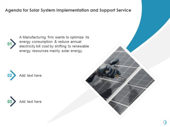 Solar_System_Implementation_And_Support_Service_Ppt_PowerPoint_Presentation_Complete_Deck_With_Slides_Slide_2