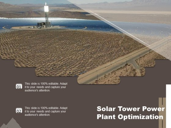 Solar Tower Power Plant Optimization Ppt PowerPoint Presentation File Example Introduction PDF