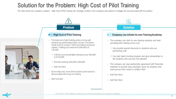 Solution For The Problem High Cost Of Pilot Training Professional PDF