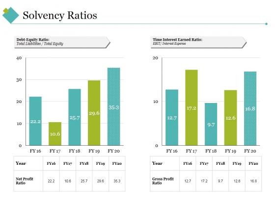 Solvency Ratios Ppt PowerPoint Presentation Professional