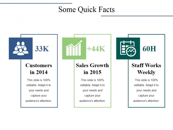 Some Quick Facts Ppt PowerPoint Presentation Inspiration Display