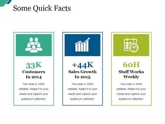 Some Quick Facts Ppt PowerPoint Presentation Summary Example