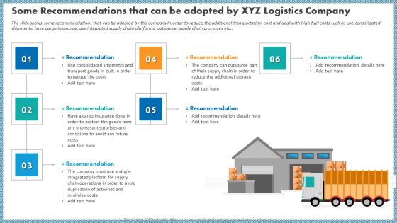 Some Recommendations That Can Be Adopted By XYZ Logistics Company Microsoft PDF