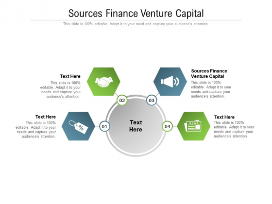 Sources Finance Venture Capital Ppt PowerPoint Presentation Professional Good Cpb Pdf