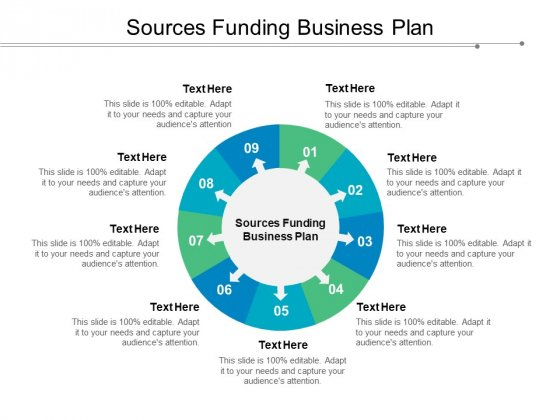 Sources Funding Business Plan Ppt PowerPoint Presentation Infographic Template Outfit Cpb