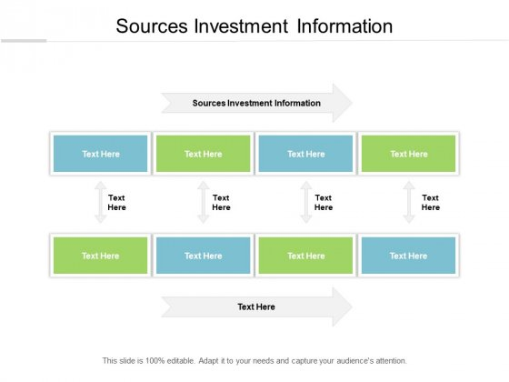 Sources Investment Information Ppt PowerPoint Presentation Pictures Tips Cpb
