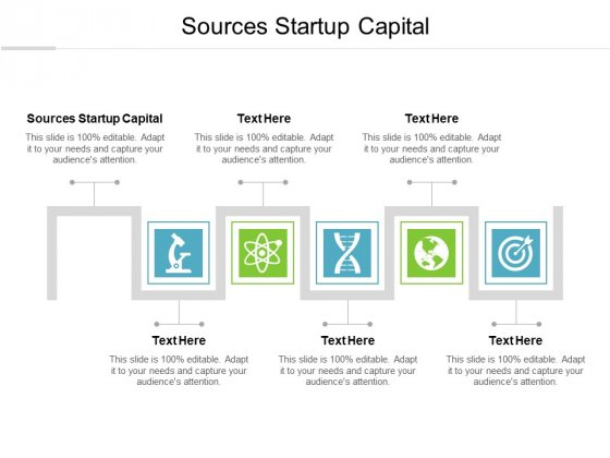 Sources Startup Capital Ppt PowerPoint Presentation Inspiration Graphics Cpb