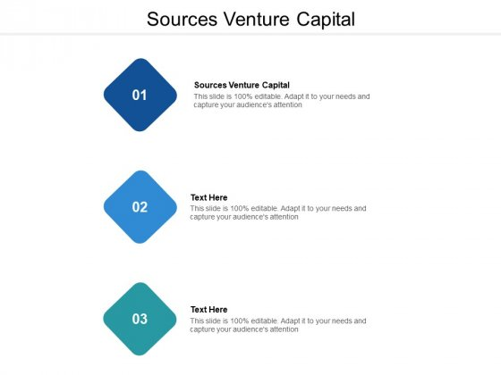 Sources Venture Capital Ppt PowerPoint Presentation Ideas Visuals Cpb
