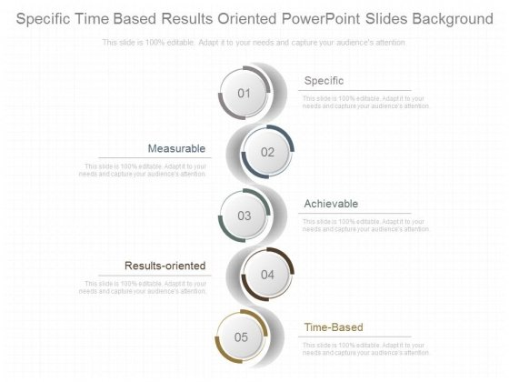 Specific Time Based Results Oriented Powerpoint Slides Background