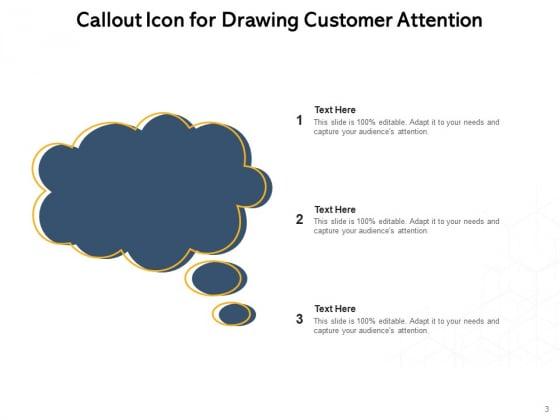 Speech_Bubble_Communication_Customer_Attention_Telephone_Receiver_Ppt_PowerPoint_Presentation_Complete_Deck_Slide_3