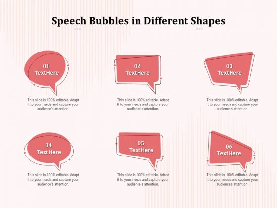 Speech_Bubbles_In_Different_Shapes_Ppt_PowerPoint_Presentation_Show_Format_Slide_1