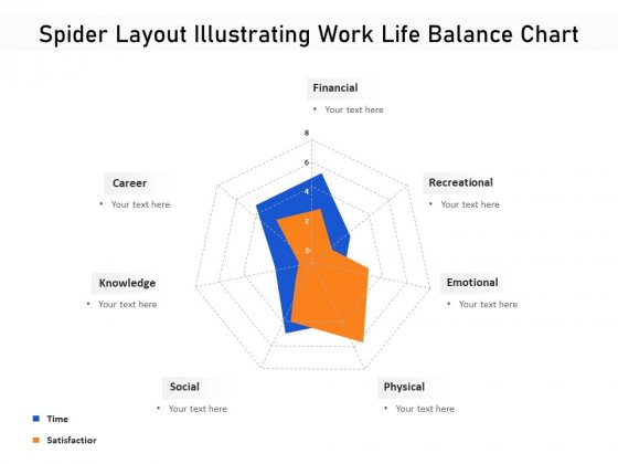 Spider Layout Illustrating Work Life Balance Chart Ppt PowerPoint Presentation Icon Outline PDF
