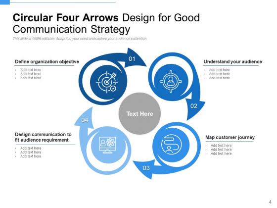 Spiral_4_Arrows_Plan_Communication_Ppt_PowerPoint_Presentation_Complete_Deck_Slide_4