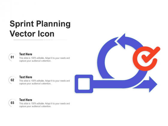 Sprint Planning Vector Icon Ppt PowerPoint Presentation Slides Icons PDF