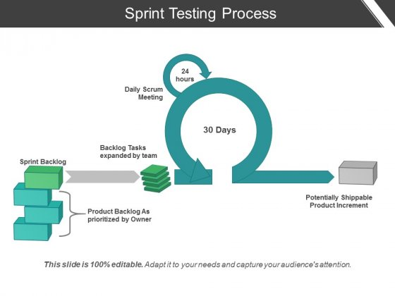 Sprint Testing Process Ppt PowerPoint Presentation Inspiration Demonstration
