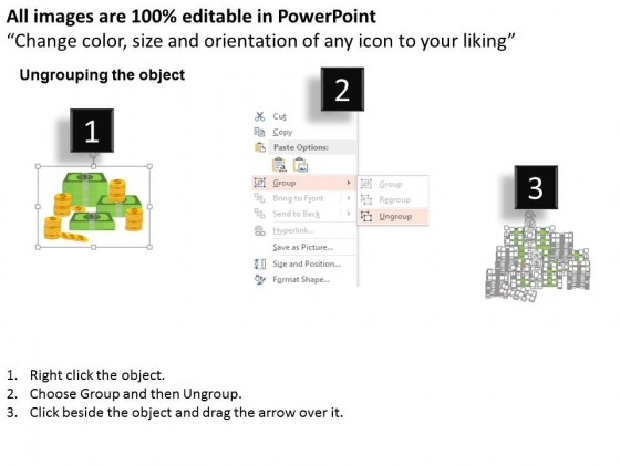 Stack_Of_Dollar_Notes_And_Gold_Coins_Powerpoint_Template_2