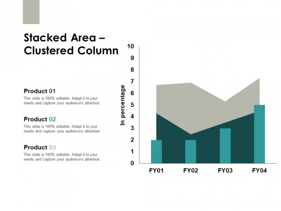 Stacked Area Clustered Column Finance Ppt PowerPoint Presentation Slides Images