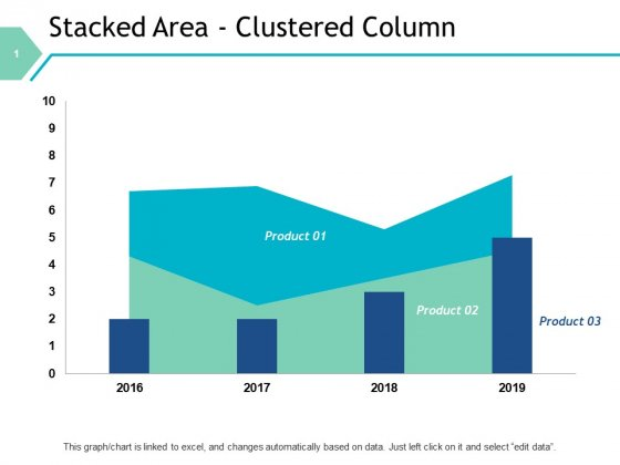 Stacked Area Clustered Column Graph Ppt PowerPoint Presentation File Designs Download