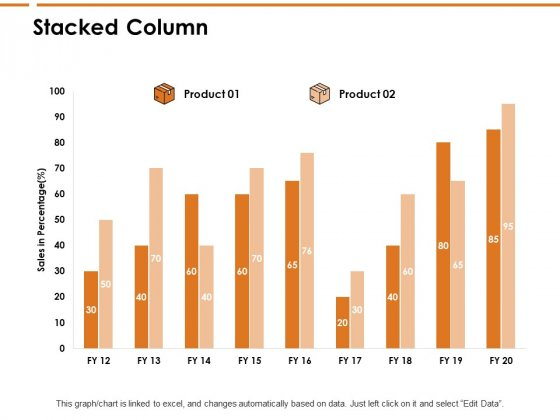 Stacked Column Analysis Ppt PowerPoint Presentation File Gallery