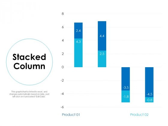 Stacked Column Analysis Ppt Powerpoint Presentation Inspiration Examples