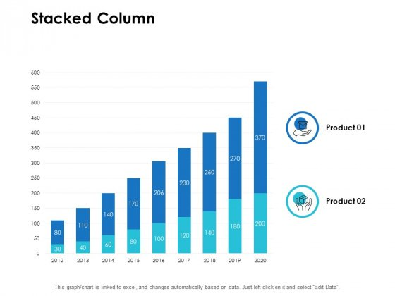 Stacked Column Finance Ppt PowerPoint Presentation File Influencers