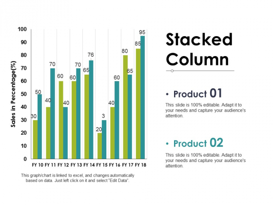 Stacked Column Ppt PowerPoint Presentation Pictures Layouts