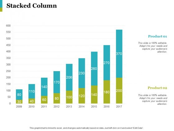 Stacked Column Ppt PowerPoint Presentation Show Slides
