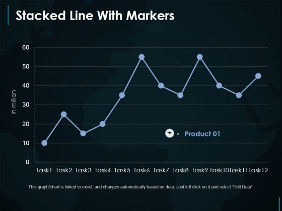 Stacked Line With Markers Ppt PowerPoint Presentation Gallery Inspiration