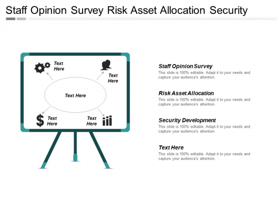 Staff Opinion Survey Risk Asset Allocation Security Development Ppt PowerPoint Presentation Model Design Ideas