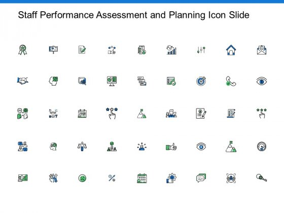 Staff Performance Assessment And Planning Icon Slide Growth Ppt PowerPoint Presentation Slides Graphics Template