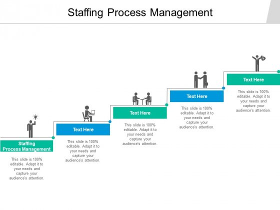 Staffing Process Management Ppt PowerPoint Presentation Summary Template Cpb