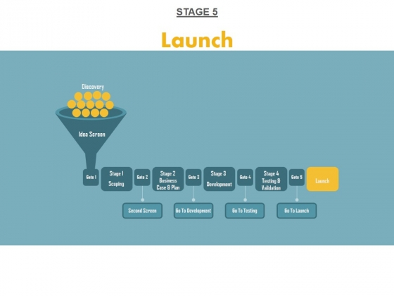 Stage 5 Launch Ppt PowerPoint Presentation Show Clipart