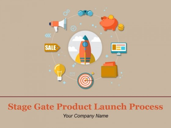 Stage Gate Product Launch Process Ppt PowerPoint Presentation Complete Deck With Slides