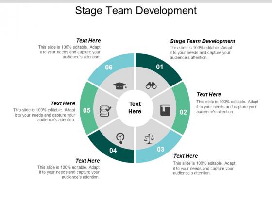 Stage Team Development Ppt Powerpoint Presentation Model Display Cpb