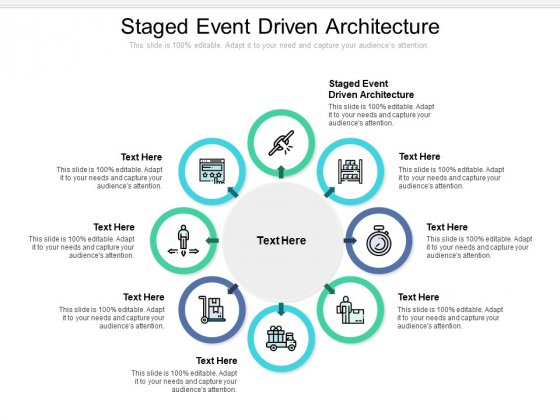 Staged Event Driven Architecture Ppt PowerPoint Presentation Gallery Design Templates Cpb Pdf